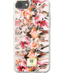 richmond & finch marble flower case for iphone 6/6s, iphone 7, iphone 8
