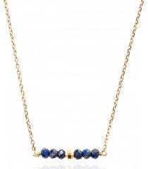 naszyjnik z mini kamieniami kolekcja gemma kamień lapis lazuli