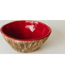 misa ceramiczna drzewo- czerwona