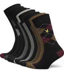thomas underwear socks regular socks multi/mönstrad lyle & scott
