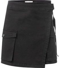zwarte cargo dames rok yaya - 140148-923-00001