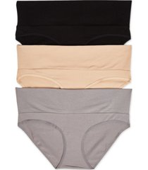 motherhood maternity 3-pk. fold-over panties