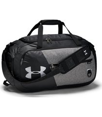 maletin under armour duffel 4.0 medium - negro/gris oscuro