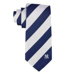 eagles wings new york yankees regiment woven silk tie