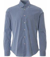oxford shirt check - blue notadayt-blu