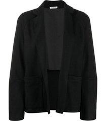 barena virgilia open-front cardigan - black