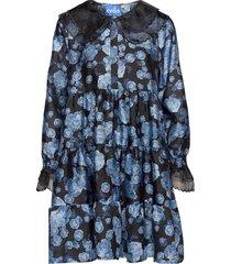 astridcras dress dresses shirt dresses blå cras