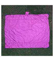 parachute beach blanket, 'sanur fuchsia' (indonesia)