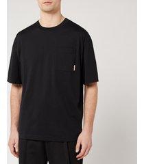 acne studios men's boxy fit t-shirt - xl