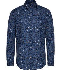 munster santon overhemd casual blauw mads nørgaard