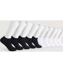 strumpor 10-pack sneaker socks
