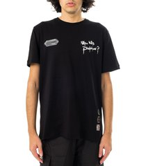 disclaimer t-shirt unisex maglia in jersey 21eds50616