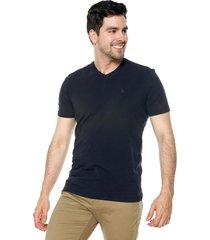 camiseta azul oscuro americanino