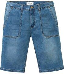 bermuda in jeans multistretch regular fit (blu) - john baner jeanswear