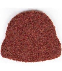 simply natural alpaca boucle peruvian hat