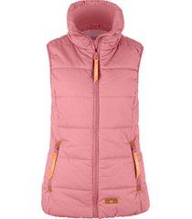 gilet imbottito a collo alto (rosa) - bpc bonprix collection