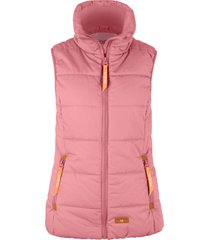 gilet imbottito a collo alto (rosa) - bpc bonprix collection