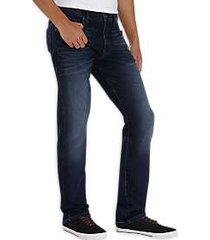 flex by joseph abboud dark wash knit jeans