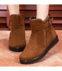 scarpe invernali da donna. stivaletti da donna in cotone con zip