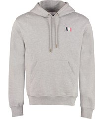 ami alexandre mattiussi cotton hoodie