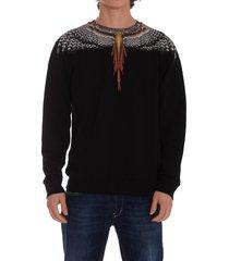 marcelo burlon glizzly wings sweatshirt