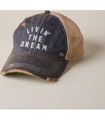 sundance catalog women's livin' the dream hat in need cffee