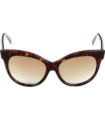 55mm cat eye sunglasses