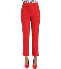 pantalón oficina pitillo rojo nicopoly