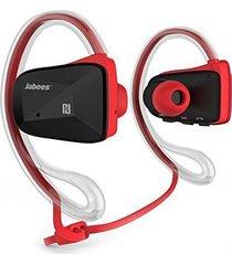 audifonos bluetooth, tapa de agua universal profesional bsport de 4 colores audifonos bluetooth manos libres  inalámbrico deportes estéreo impermeable audifonos auriculares (rojo)