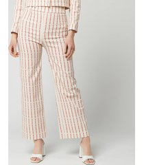 de la vali women's louise trousers - cowgirls print - uk 10