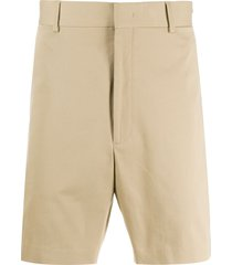 fendi straight-leg bermuda shorts - brown