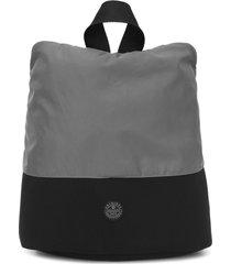 mochila colcci fitness bicolor cinza