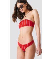 kristin sundberg for na-kd ks bikini thong - red