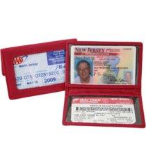 royce id holder credit card wallet in genuine leather