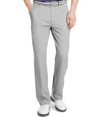 izod men's flat front microfiber performance golf pants