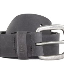 cinturon hombre bitterroot leather belt negro cat