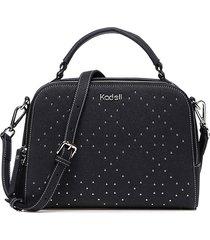 borsa a tracolla in pelle scamosciata delle signore kadell borsa elegante a forma di diamante