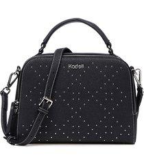 kadell borsa messenger per donna in pelle scamosciata borsa elegante design a diamante