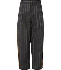 necessity sense sage carrot trousers - grey