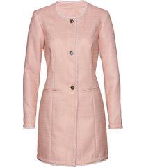 blazer lungo in bouclé (rosa) - bpc selection