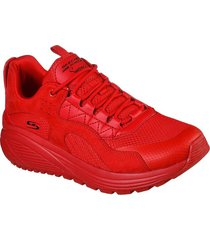 tenis lifestyle skechers bobs sport sparrow 2.0 urban sounds - rojo