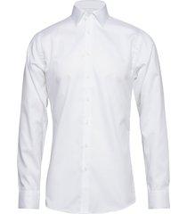 fine twill - slim fit skjorta business vit seven seas copenhagen