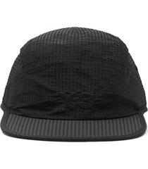y-3 ch2 nylon baseball cap - black