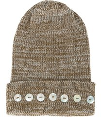 0711 isola beanie - brown