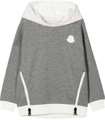 moncler gray sweatshirt