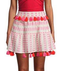 morena tassel skirt