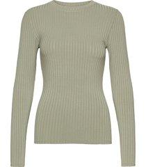 5x5 solid tuba t-shirts & tops long-sleeved groen mads nørgaard