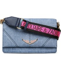 lolita jeans bags small shoulder bags - crossbody bags blå zadig & voltaire