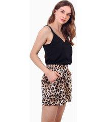 shorts greta animal print jacinta tienda
