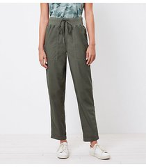 loft lou & grey poplin pants